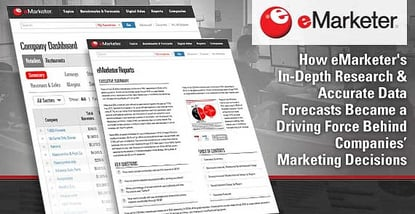 Emarketer Reports Drive Marketing Decisions
