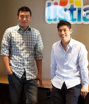 Listia Co-Founders Gee-Hwan Chuang and James Fong