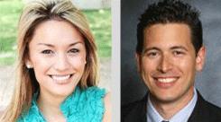 Photos of Jennifer Kay and Leon Blum
