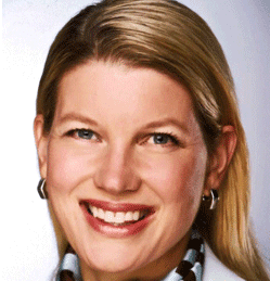 Portrait of Heide Abelli, VP of Business Skills and Leadership Content for Skillsoft