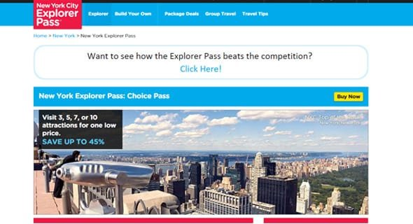 The New York City Explorer Pass