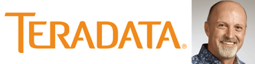 The Teradata logo and a portrait of John Timmerman, Product Marketing Manager for Teradata