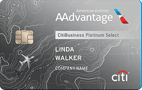 CitiBusiness / AAdvantage Platinum Select World Mastercard