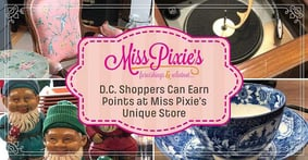 Miss Pixie's Furnishings & whatnot Offers Washington, D.C. Visitors a Unique Vintage Shopping Experience and Earns them Credit Card Rewards