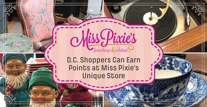 Dc Shoppers Can Earn Points At Miss Pixies Unique Store