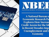A National Bureau of Economic Research Paper Explores How Increased Credit Access for the Jobless in Recent Decades Impacts Unemployment and the Economy