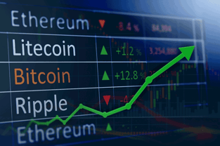 Cryptocurrency Index Graphic