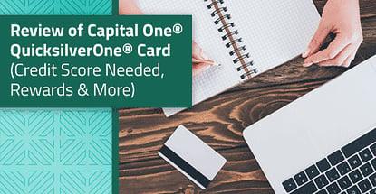 Capital One Quicksilverone Credit Score Needed