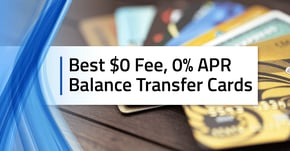 15 Best $0 Fee, Intro 0% Balance Transfer Credit Cards for 2020