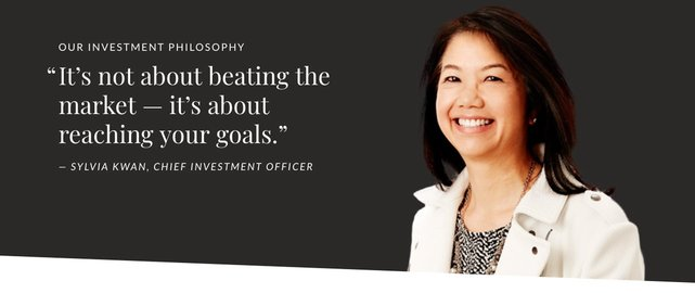 Screenshot of Ellevest Chief Investment Officer Sylvia Kwan and quote