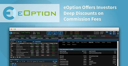 Eoption Offers Investors Deep Discounts On Commission Fees