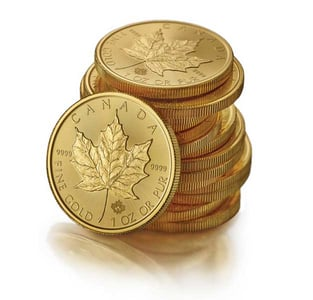 Gold Maple Leaf Coins
