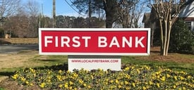 First Bank Sign