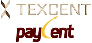 Texcent and Paycent Logos