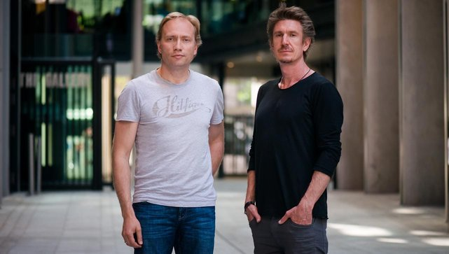 Photo of Sweatcoin Founders Oleg Fomenko and Anton Derlyatka
