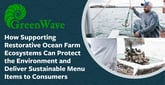 GreenWave: How Supporting Restorative Ocean Farm Ecosystems Can Protect the Environment and Deliver Sustainable Menu Items to Consumers