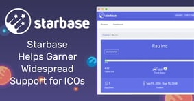 With Its Crowdfunding ICO Platform, Starbase Helps Projects Garner Support by Connecting Them to Large Communities