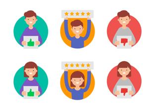 Happy Customers Graphic