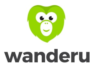 Photo of Chiku, the Wanderu Mascot and Logo