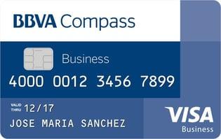 BBVA Compass Business Visa