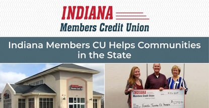 Indiana Members Cu Helps Communities In The State