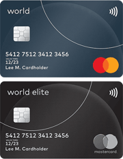 World Mastercard & World Elite Mastercard
