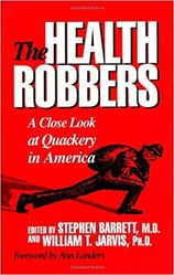 "Photo of ""The Health Robbers"" book cover"