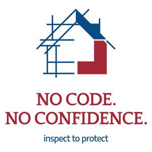 No Code. No Confidence. Logo