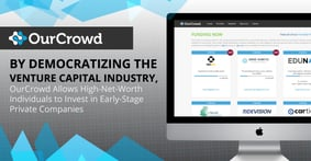 By Democratizing the Venture Capital Industry, OurCrowd Allows High-Net-Worth Individuals to Invest in Early-Stage Private Companies