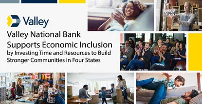 Valley National Bank Helps Build Strong Communities