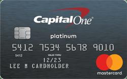 Capital One® Platinum Mastercard