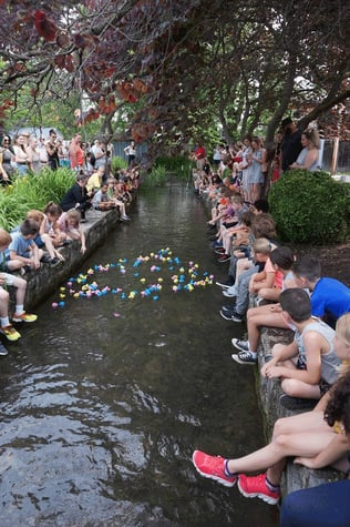 Photo of the 2019 Duck Buck Race