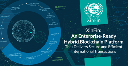 XinFin: An Enterprise-Ready Hybrid Blockchain Platform That Delivers Secure and Efficient International Transactions
