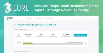 How Corl Helps Small Businesses Raise Capital Through Revenue Sharing
