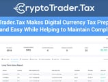 CryptoTrader.Tax Makes Digital Currency Tax Preparation Fast and Easy While Helping to Maintain Compliance