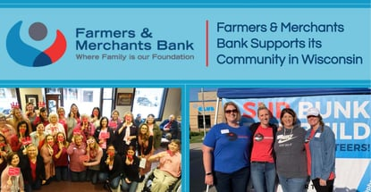 Farmers And Merchants Bank Supports Its Community In Wisconsin