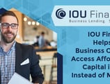 IOU Financial Helps Small Business Owners Access Affordable Capital in Days Instead of Months