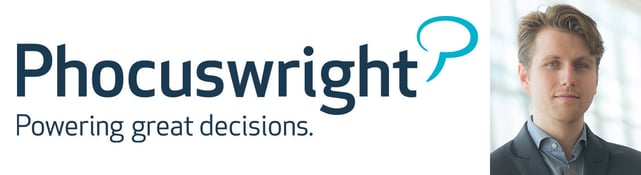 Photo of Phocuswright logo and Research Analyst Mark Blutstein