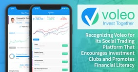Recognizing Voleo for Its Social Trading Platform That Encourages Investment Clubs and Promotes Financial Literacy