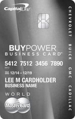 GM BuyPower Business Card™ from Capital One®