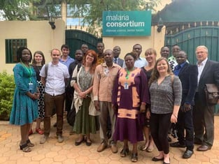 GiveWell and Malaria Consortium Photo