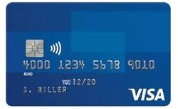 Photo of a Visa Credit Card