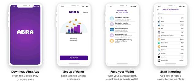 Abra App Screenshots