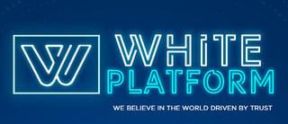 White Platform logo