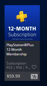 PlayStation® Plus Membership