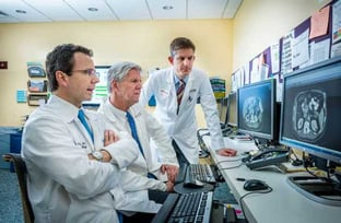 Thomas Clancy, M.D., Richard Swanson, M.D., and Brian Wolpin, M.D.