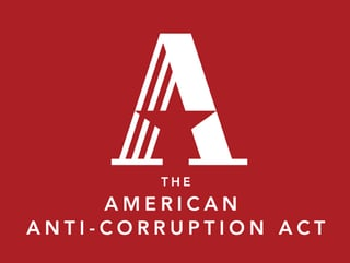 The American Anti-Corruption Act logo