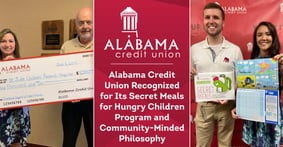Alabama Credit Union Recognized for Its Secret Meals for Hungry Children Program and Community-Minded Philosophy