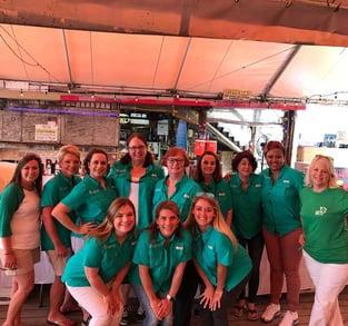 Bids, Brews, and Beats Volunteers