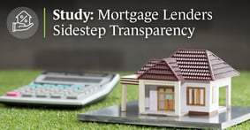 A Study Reveals that Mortgage Lenders Sidestep Transparency Mandates by Offering Loans Just Below Interest-Rate Thresholds